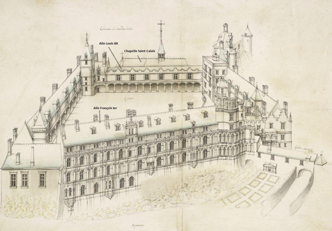 Le château de Blois : genèse d'une architecture Renaissance