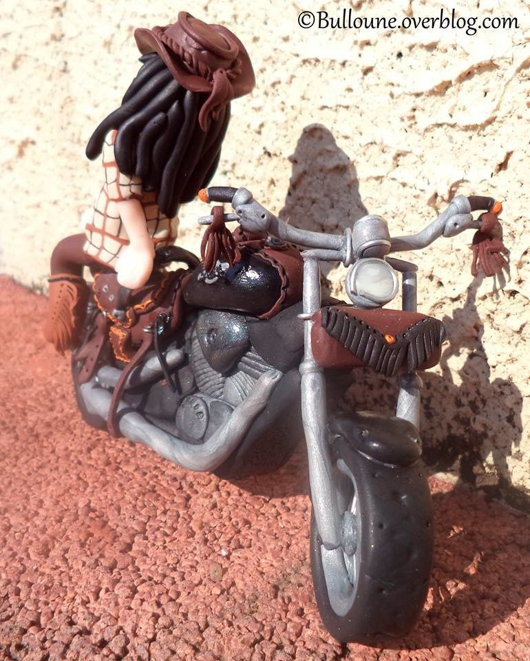Cowgirl - 600 Shadow - Moto - Fimo