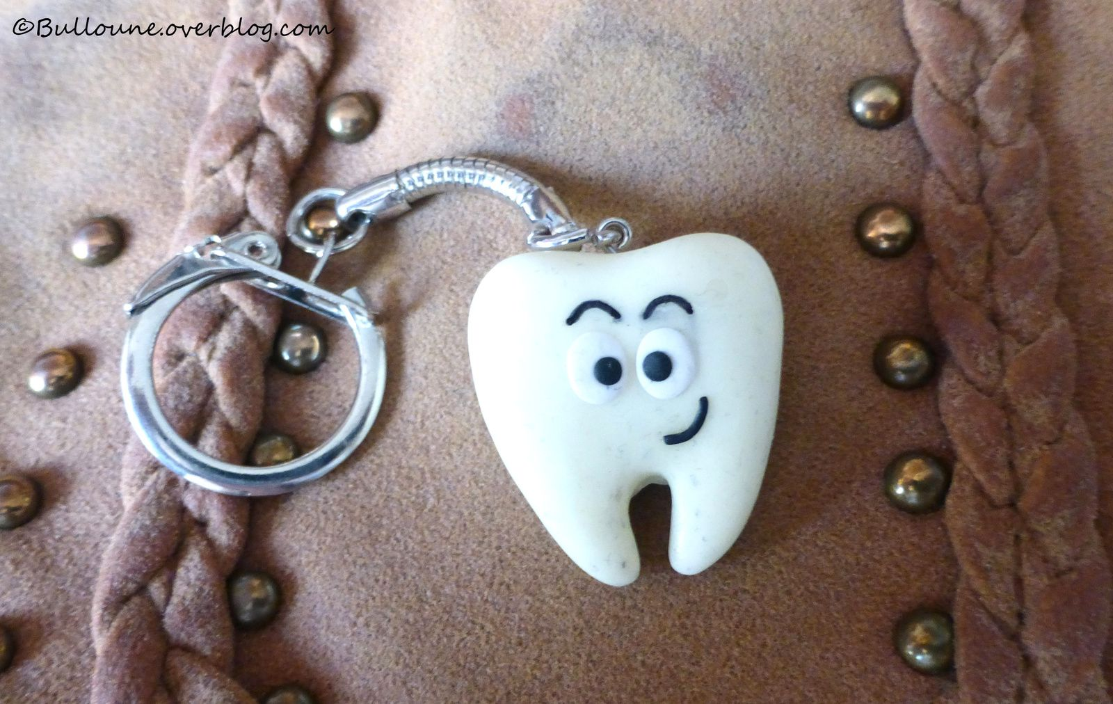 Porte-clé dent - Fimo