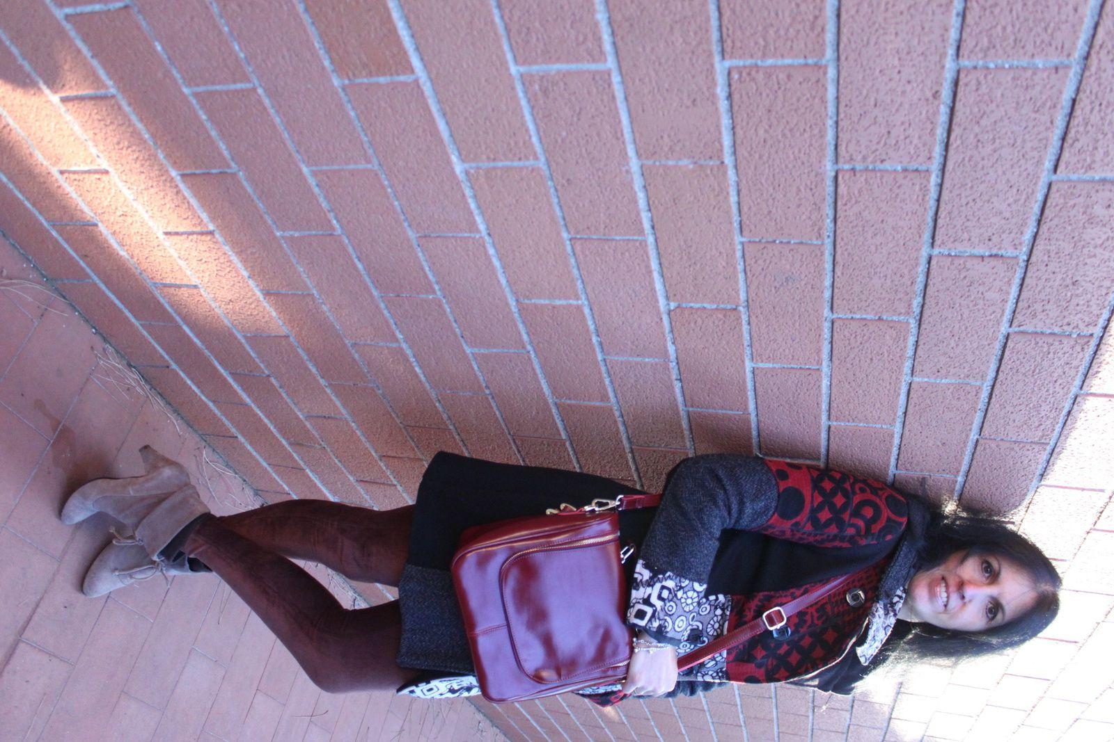 Cappotto Smash un trend spagnolo da indossare con red bag