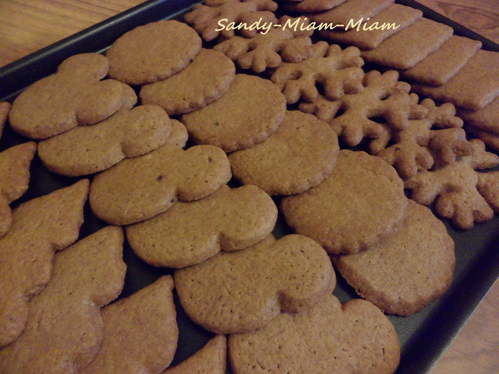 Biscuits comme des speculoos