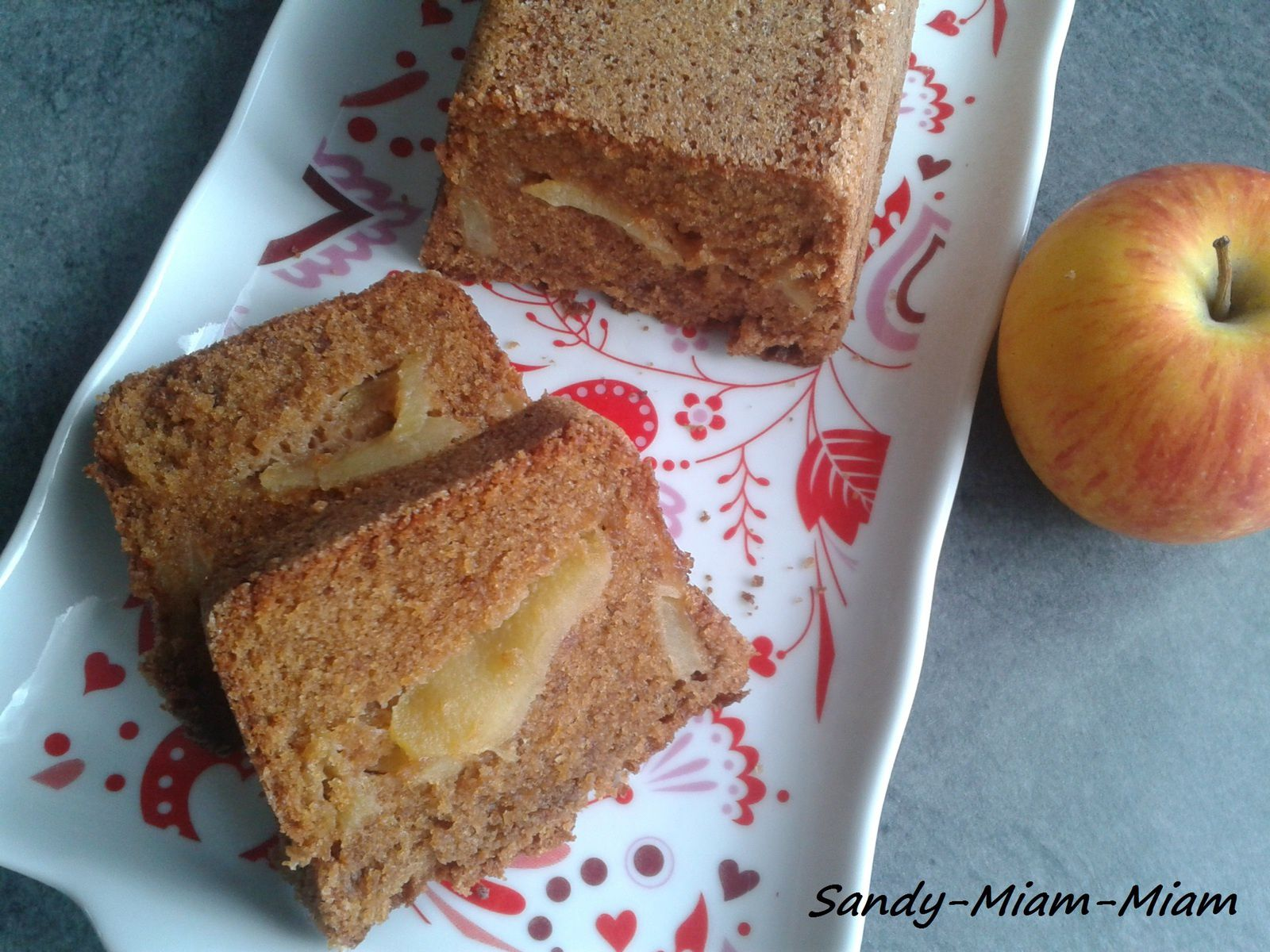 Cake speculoos aux pommes