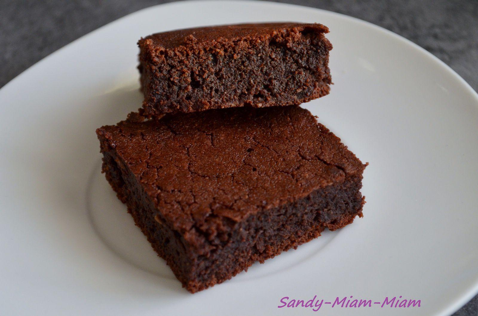 Fondant chocolat noir aux amandes