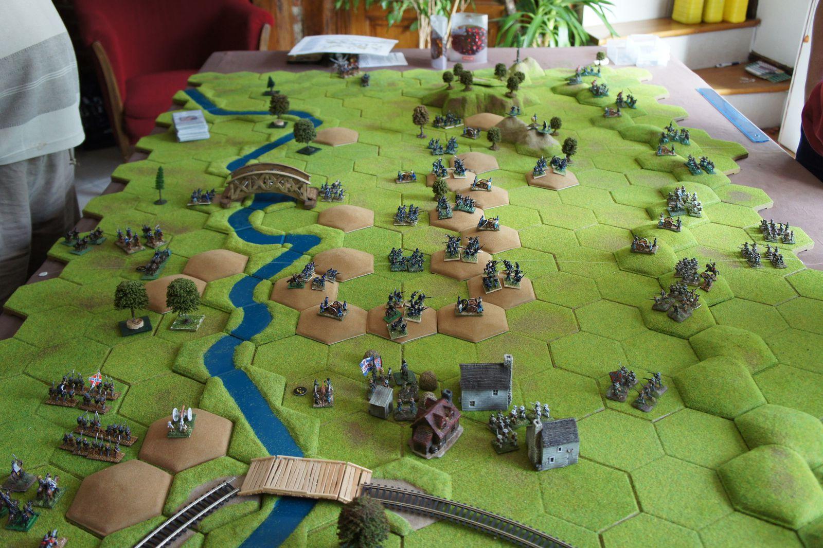 Vue du coté de Gettysburg