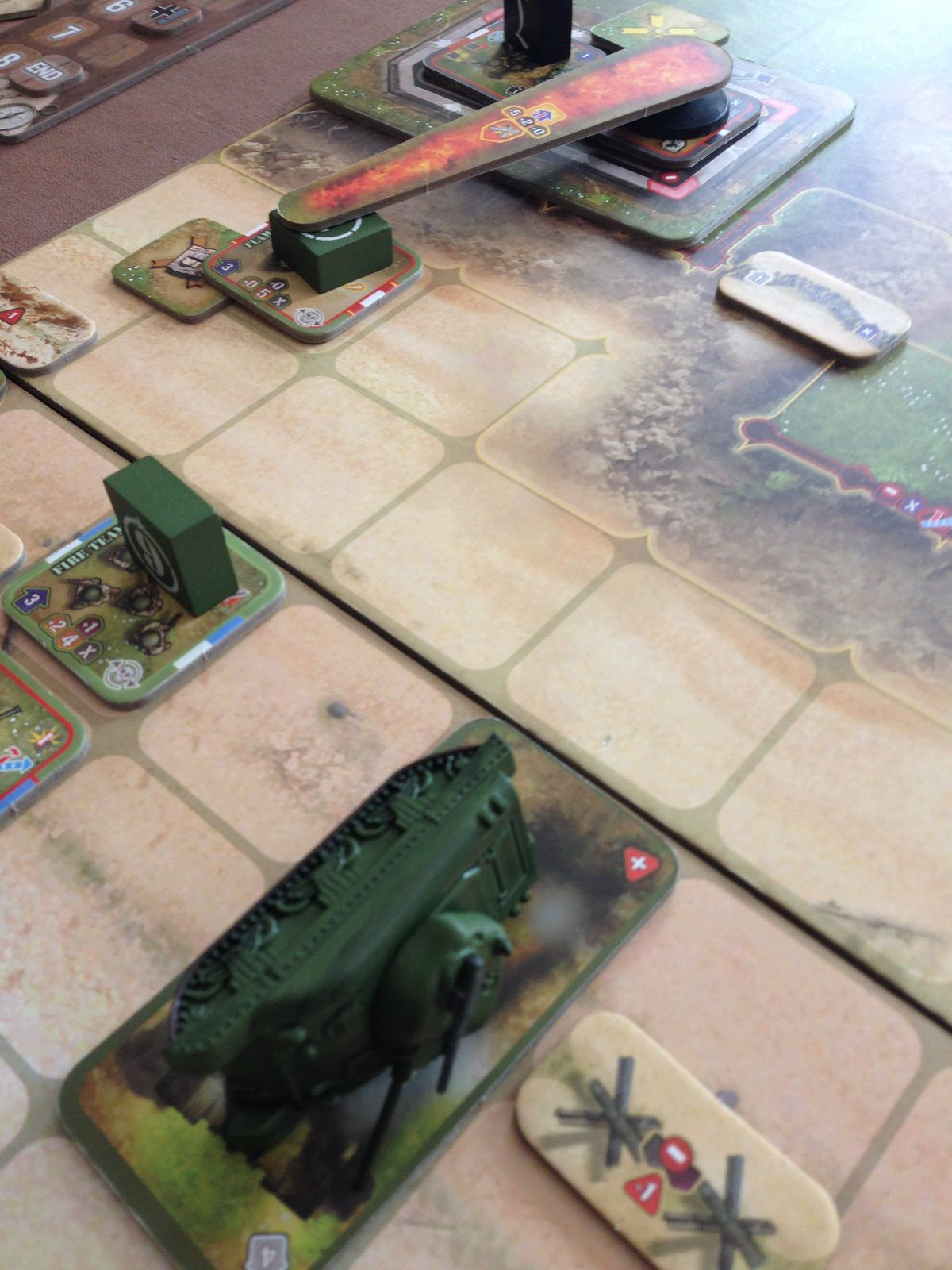 Nettoyage du bunker au lance flamme et à la grenade !