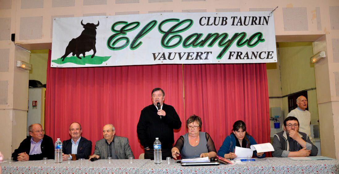 """Le Président """"historique"""" Robert LAURENT"""" ouvre l'assemblée générale 2013"""