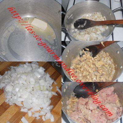 Lasagnes à la crème