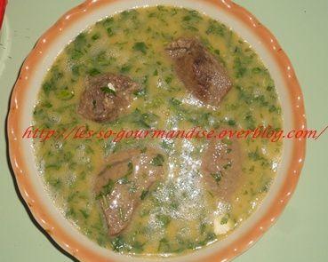 Ma3ednoussiya à la viande
