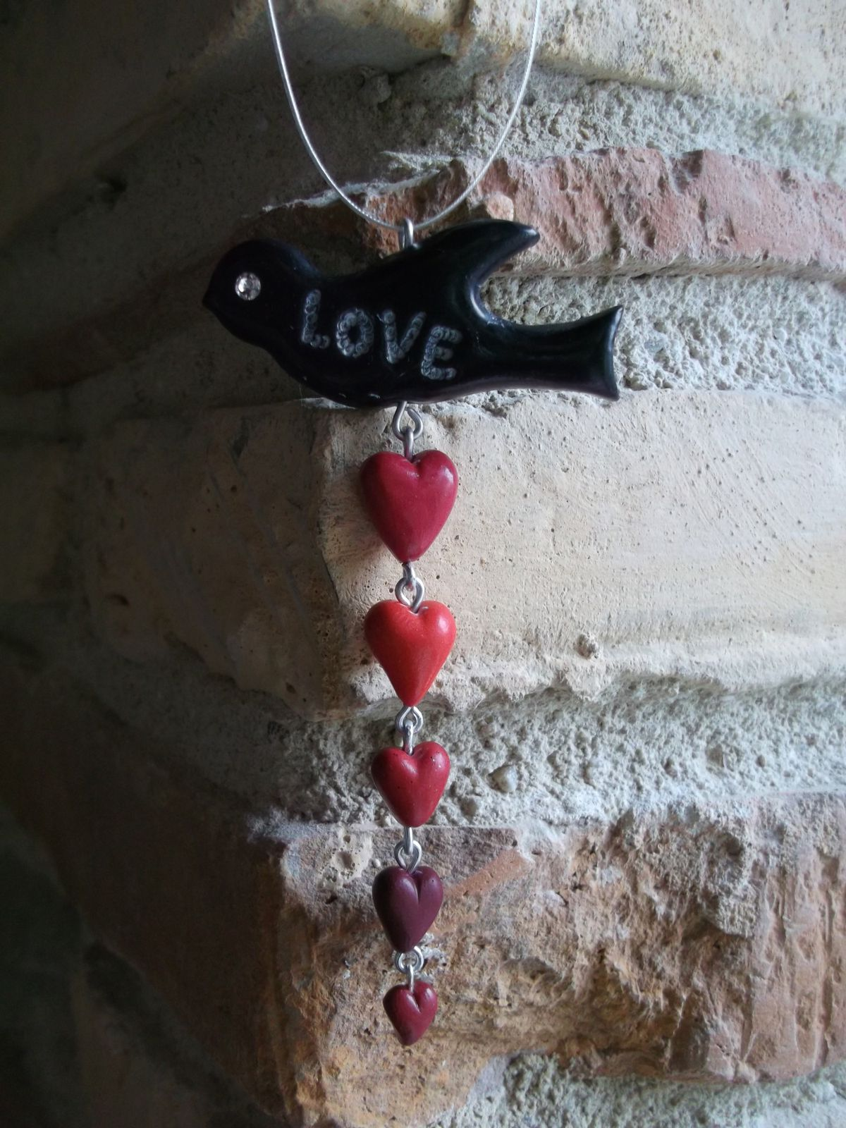 Collier Love Bird