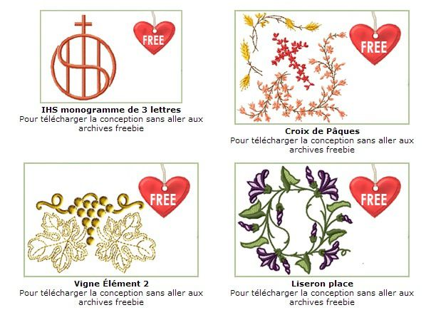 Lien vers freebies Anne Bove