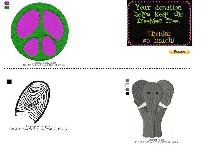 Jen's embroidery motifs broderie machine téléchargeable gratuitement