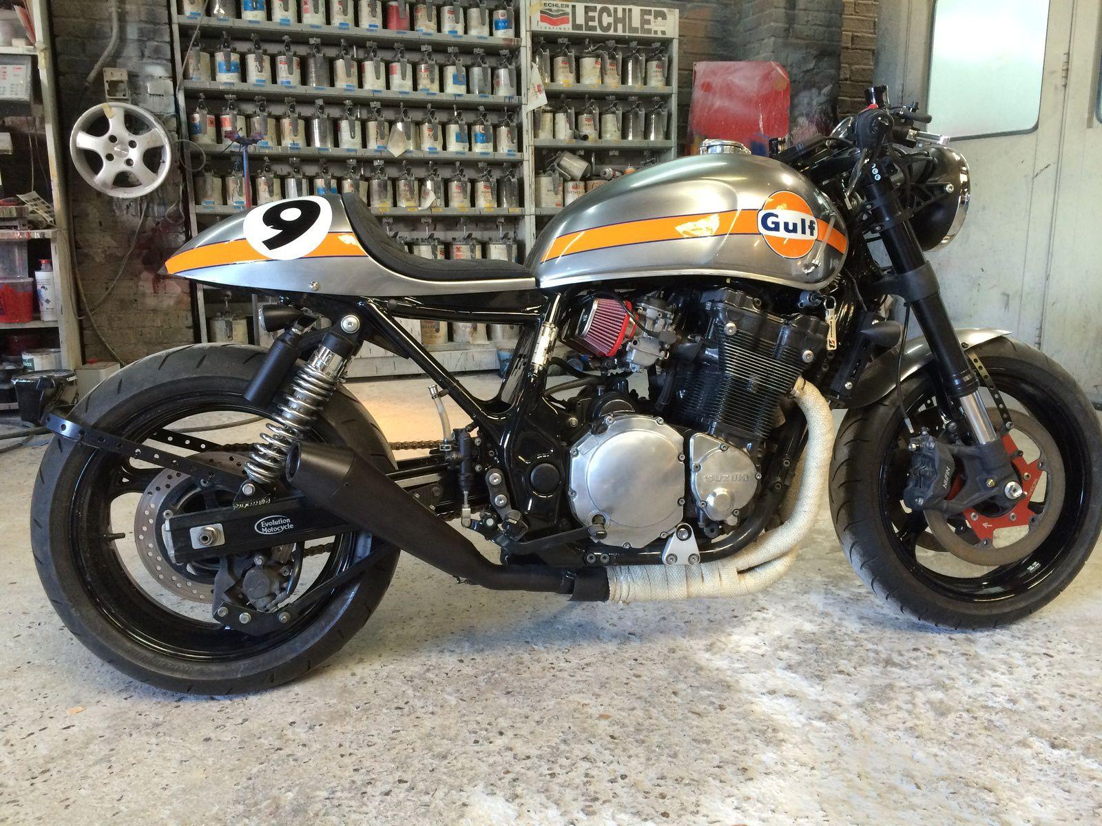 Bien connu suzuki inazuma cafe racer - Evolution Motocycle IY58