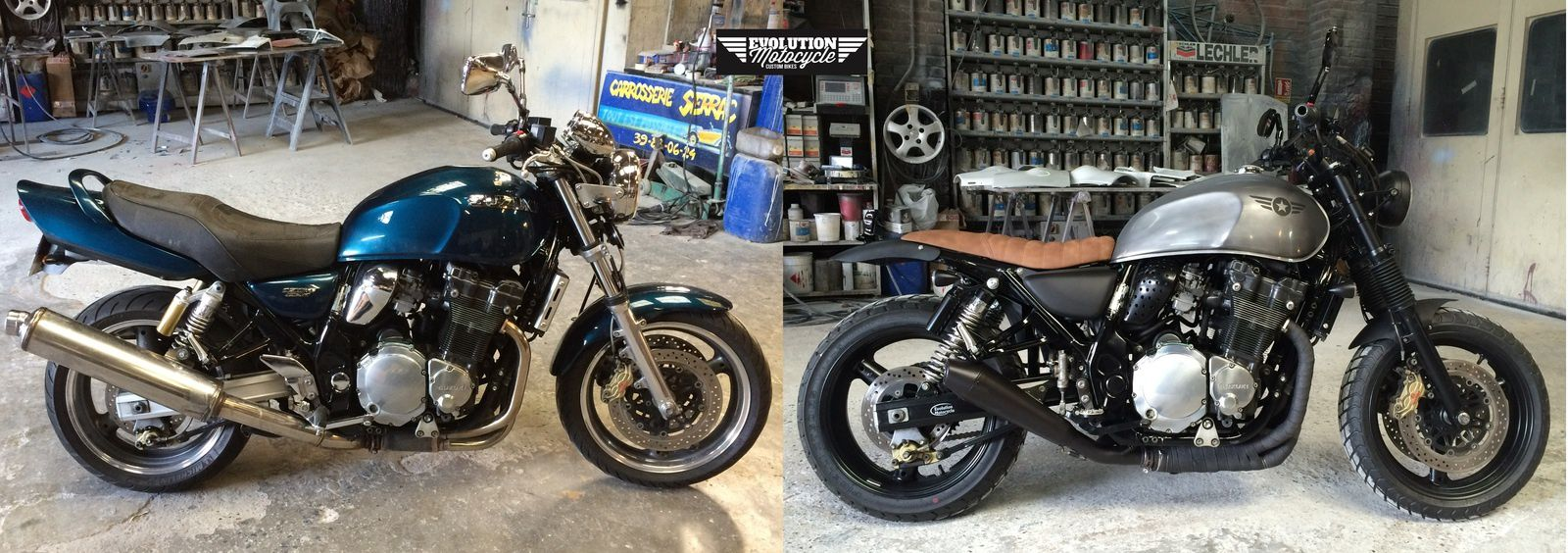 Transformations Avant Apr 233 S Evolution Motocycle