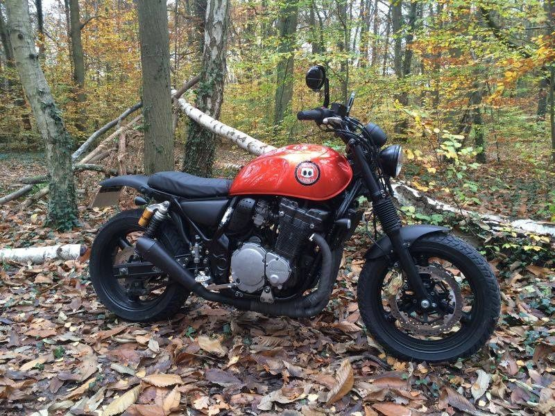 Suzuki Inazuma 1200 Scrambler The boss