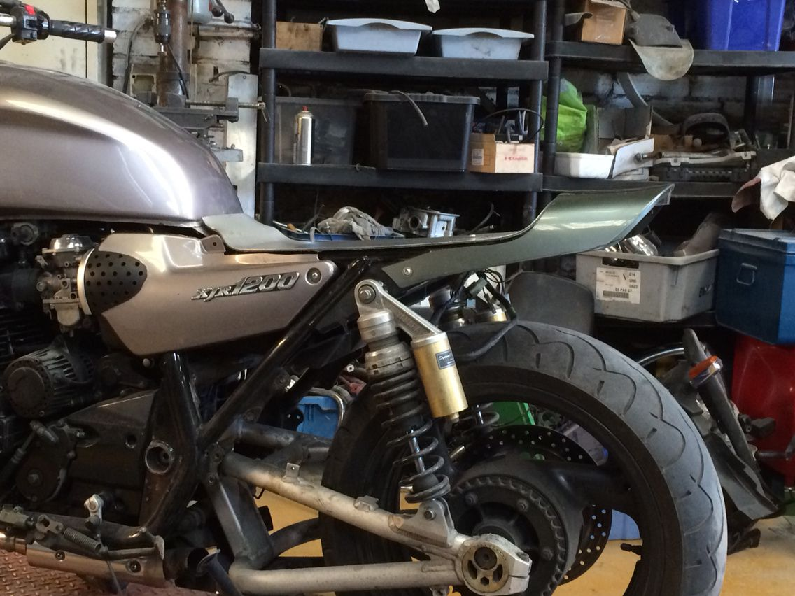 Yamaha XJR Tracker