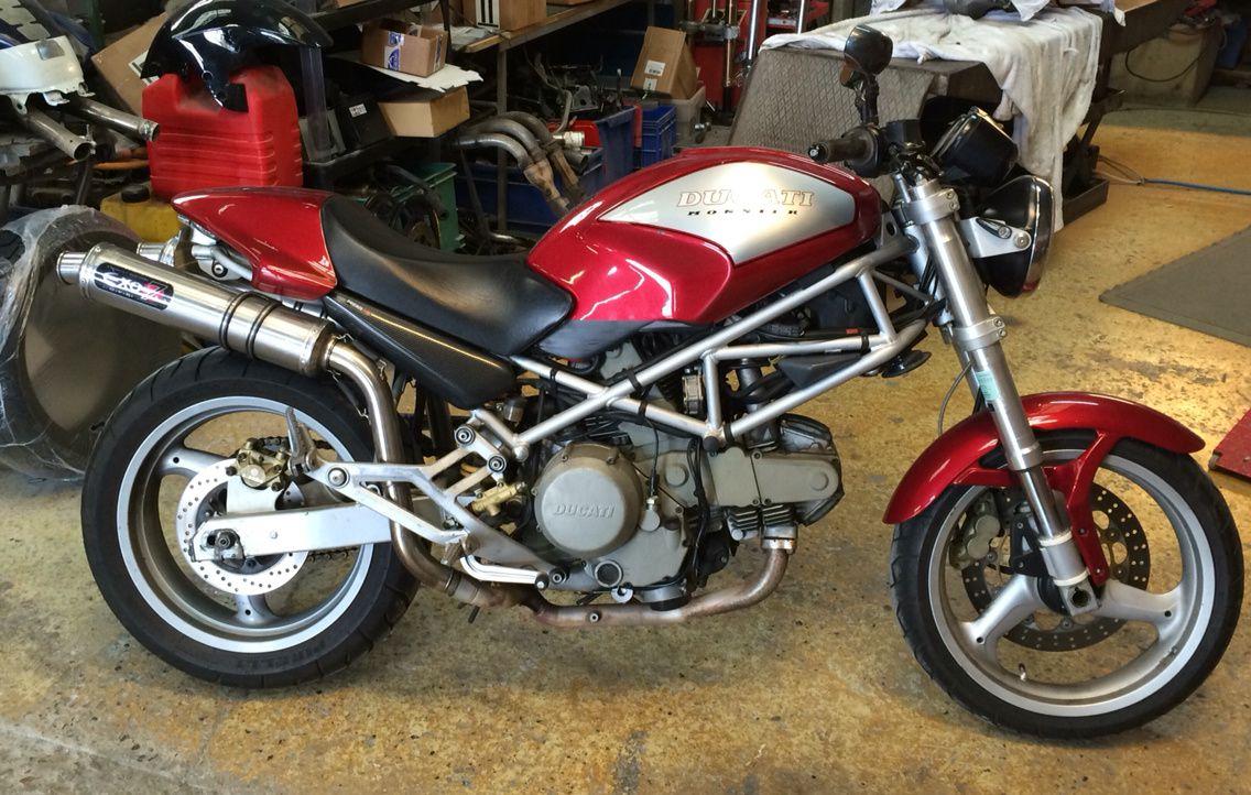 Ducati 600 Monster Scrambler