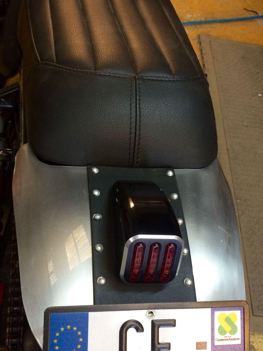 Suzuki 1200 Inazuma Scrambler &quot&#x3B; Red Star&quot&#x3B;