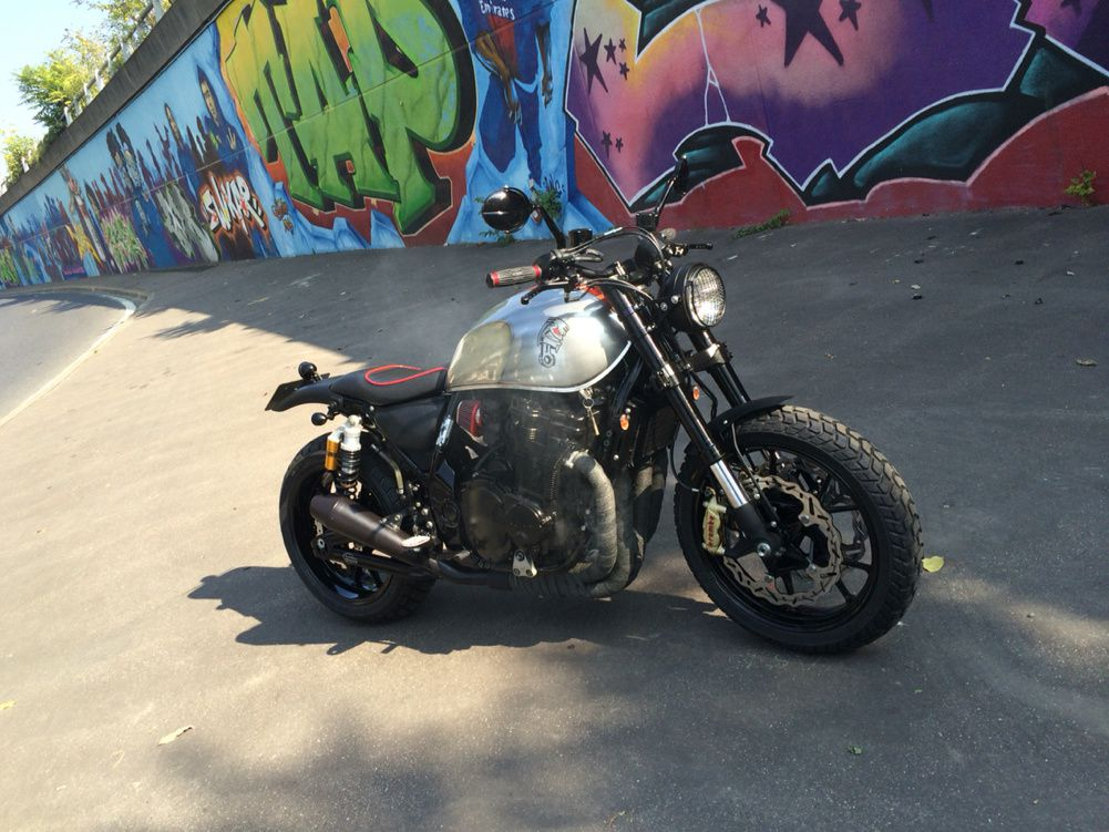 Suzuki 1200 Inazuma Scrambler &quot&#x3B; Urban-jungle&quot&#x3B;