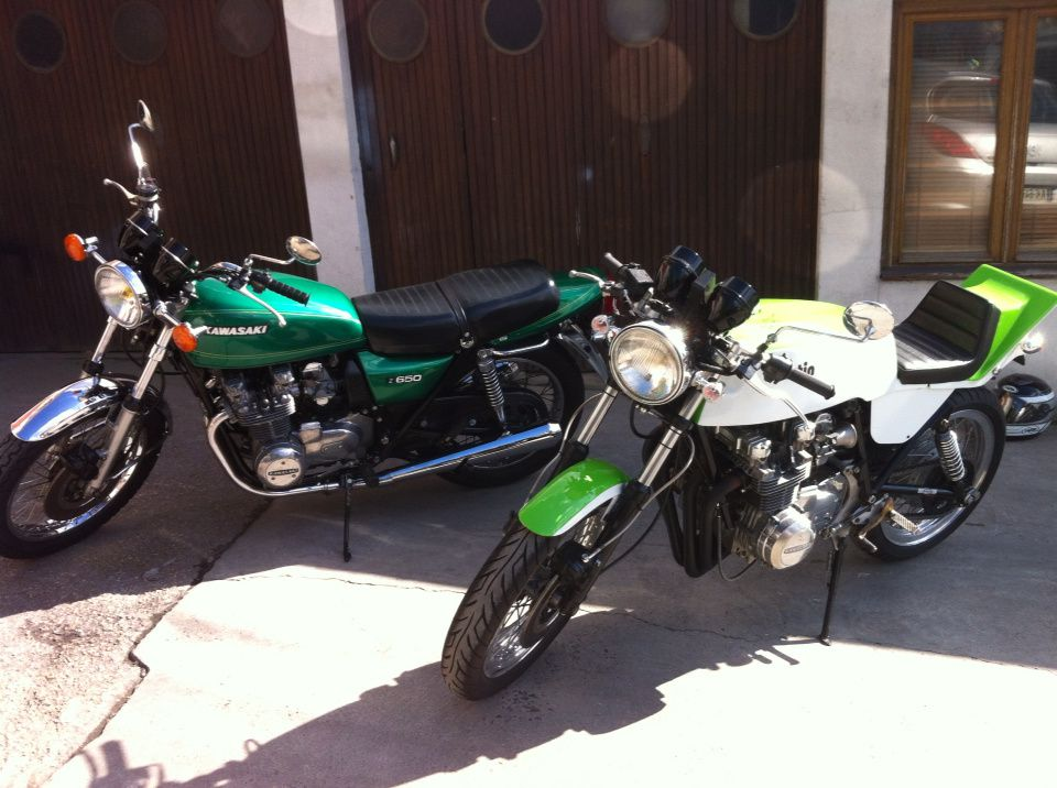 Z650 origine et version Martin.