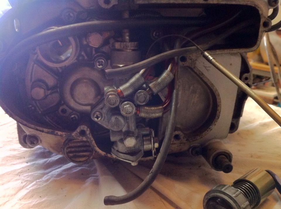 Ouverture du moteur du 350 Avanger pour restauration totale
