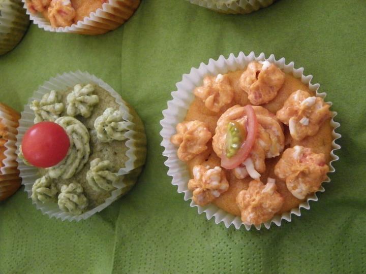 Cupcakes aux couleurs de Noel