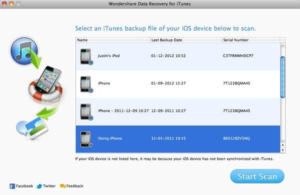 How to recover lost data from iPhone