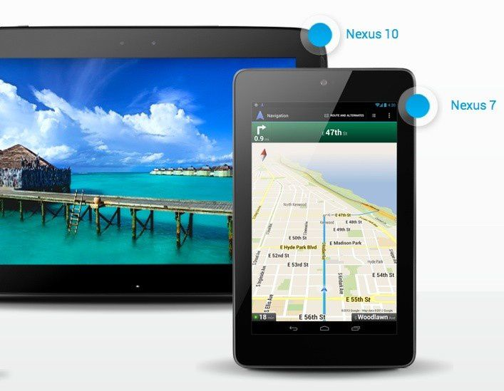 Nexus 7 or Nexus 10, which one is best for you