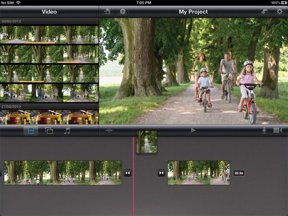 Fast and quickly edit videos with iMovie for iPad