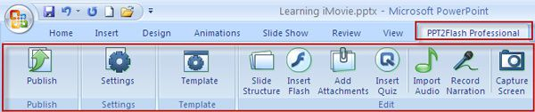 Easy two ways to convert PPT to Flash