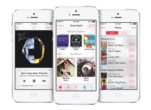 Apple's reveals iTunes Radio terms with record labels