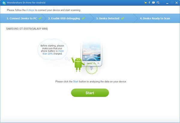 How to recover deleted files from Samsung Galaxy S4
