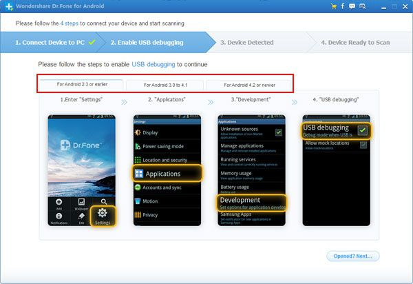 How to recover delete data from Samsung Galaxy Note 1/2
