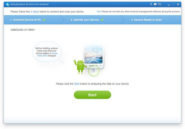 How to recover deleted data from Android devices