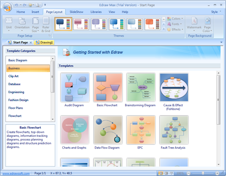 Easy and powerful flowchart software to create flow charts Easy flowchart software