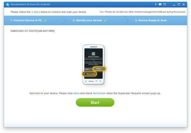 How to recover deleted videos from Samsung Galaxy S3