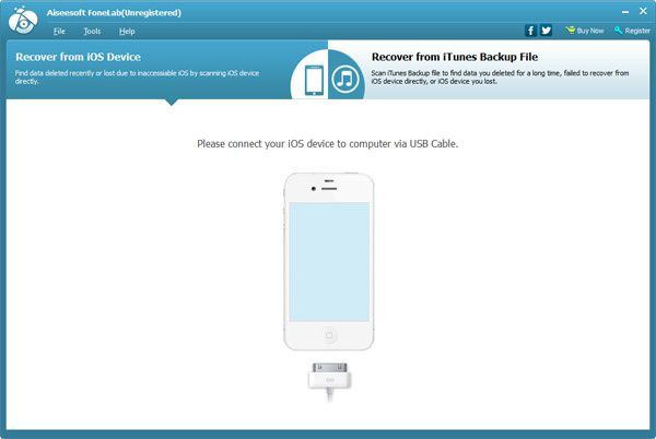 Aiseesoft FoneLab: get Everything back from your iPhone, iPad and iPod touch