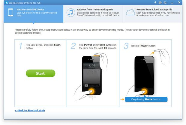 iOS Data Recovery, recover deleted files from iPhone/iPad/iPod