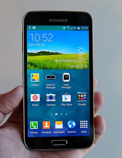 Samsung's Galaxy S5 is here with more power, more pixels, and a refined design
