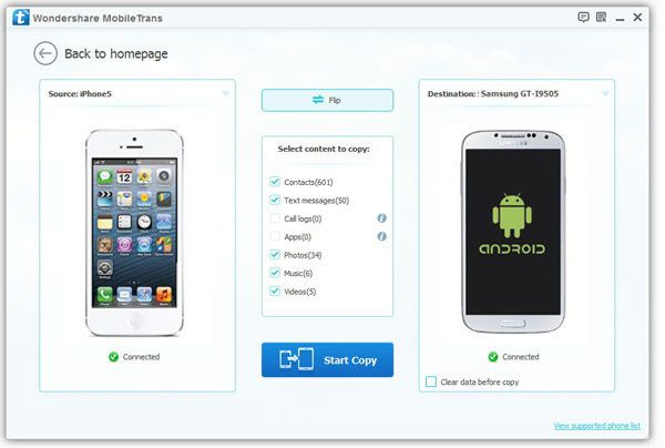 How to transfer files from iPhone to Xiaomi