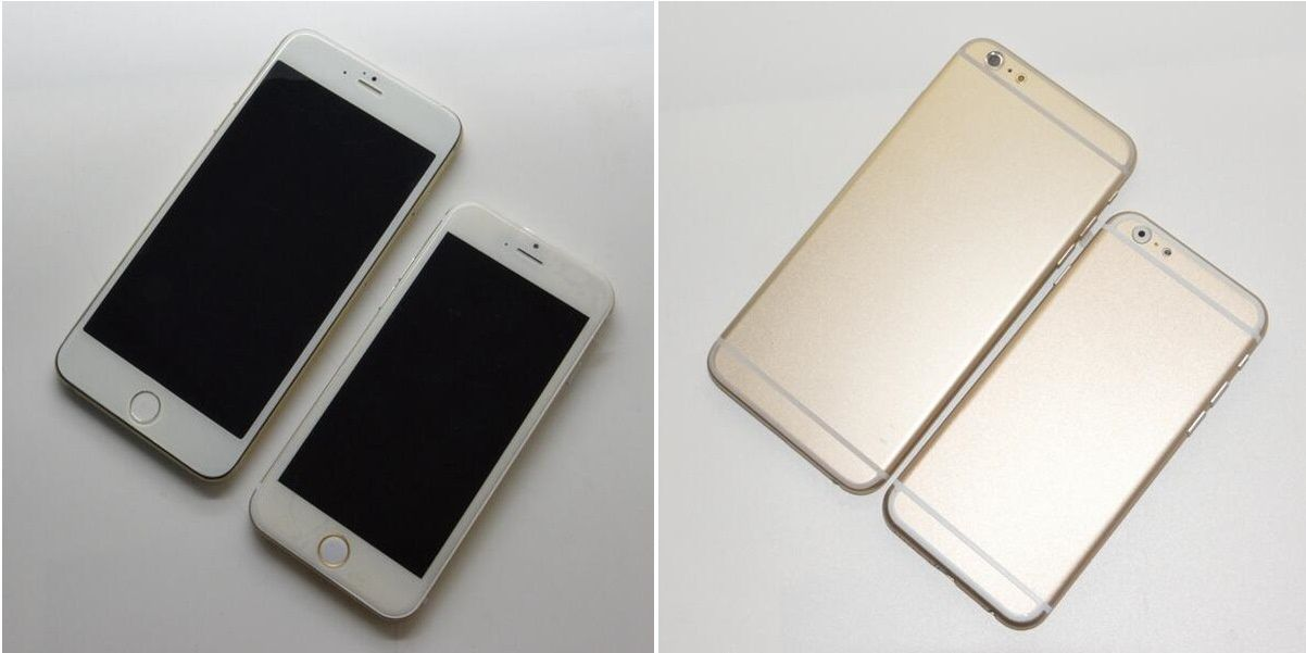 Latest iPhone 6 pictures reveal 4.7-inch and 5.5-inch model