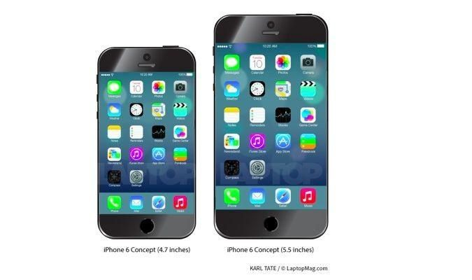 Both iPhone 6 Models May Ship in September
