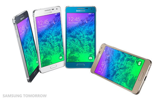 Samsung launches the Galaxy Alpha