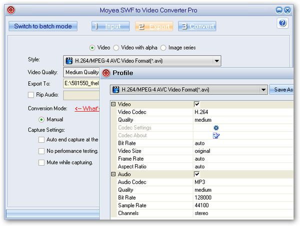 How to edit SWF in Windows Movie Maker