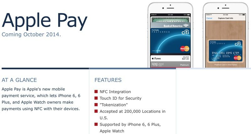 Apple Pay roundup: everything we know, coming in October