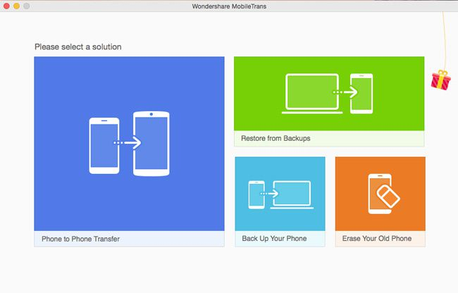 Phone Transfer, transfer files between Android, iOS, Nokia and WinPhone