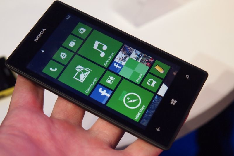 The three-year-old Nokia Lumia 520 is still the most popular Windows Phone smartphone