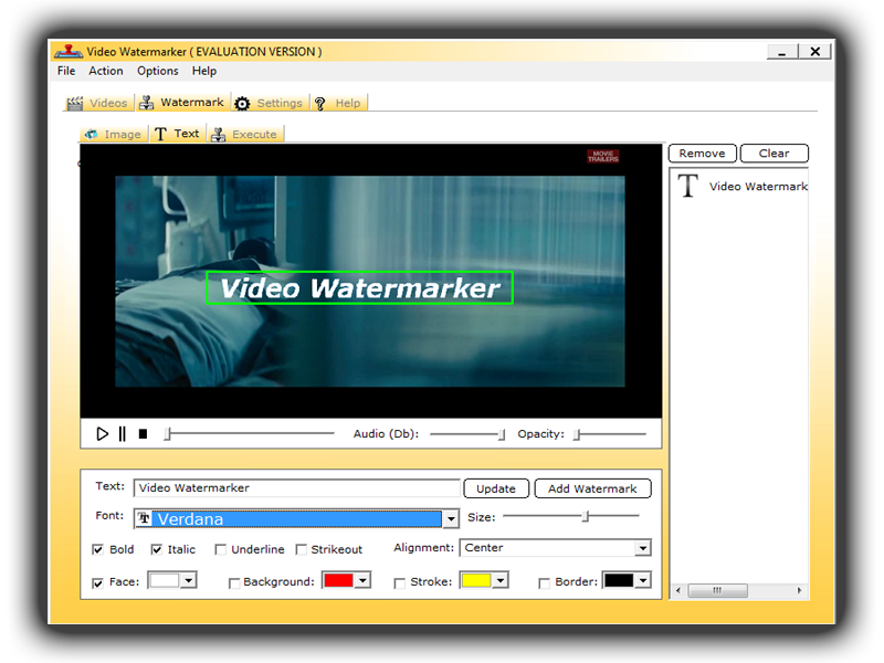 Get Video Watermark to Watermark Videos with Texts and Videos
