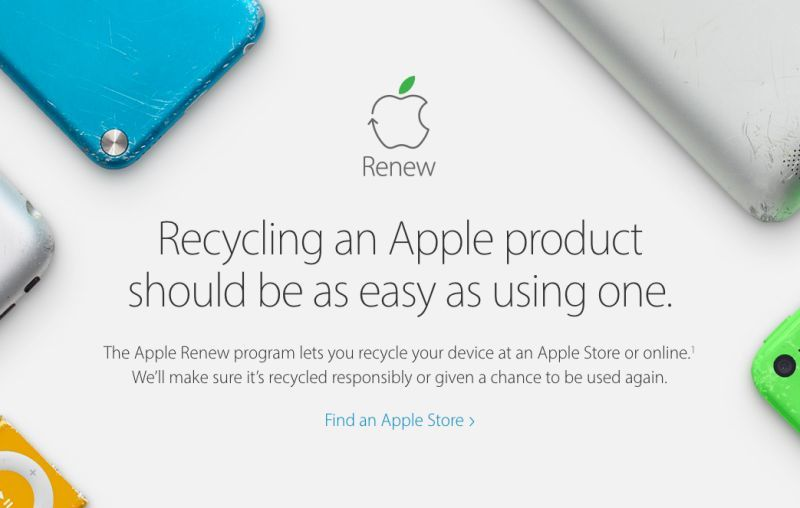 Here's how much Apple will pay you to recycle your old iPhone
