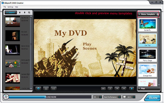 30% Off to Get iSkysoft DVD Creator to Burn Your Own DVDs with Customized Menus