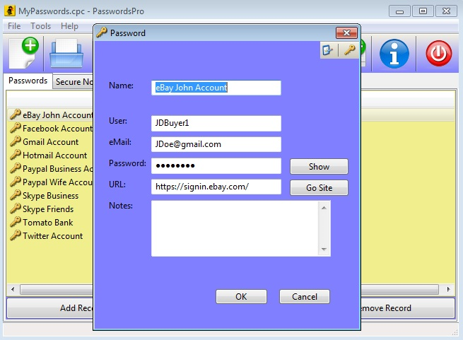 30% Off to Get PasswordsPro to Store All of Your Passwords with One File